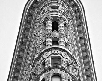 "Flatiron Building Photograph, New York City, Black and White Photography, Wall Art, NYC, Art Print, Manhattan, Architecture, ""Classic"""