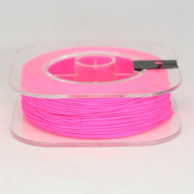 2cf7ed8d2361 Carrete de neón rosa 100 yardas de los 0.7m m cuerda Nylon