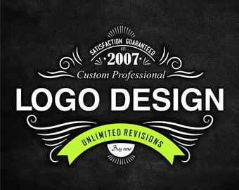 Custom Logo Designer | 3 Concepts | Unlimited Revisions