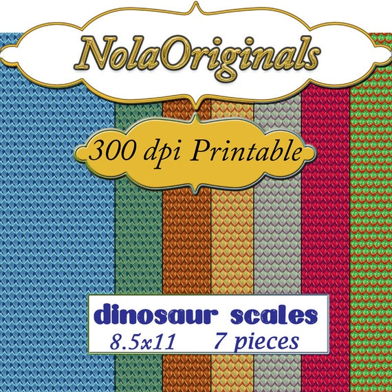 photo regarding Scales Printable named Dinosaur Scales Electronic Printable Paper