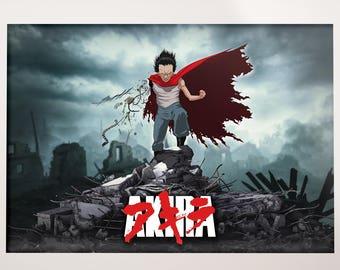 Tetsuo Akira Poster anime retro 80s