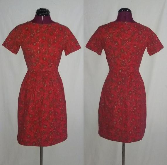 Vintage 1950s/60s Lanz Dress