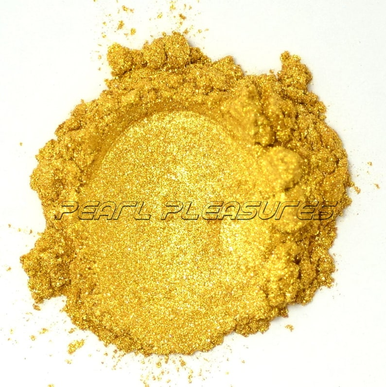Sparkling Gold Pearl Pigment  Powder image 0