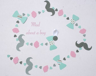 paper garland: Mad about a boy