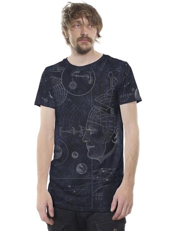 phrano schwarz galaxy waschen psy t shirt festival. Black Bedroom Furniture Sets. Home Design Ideas