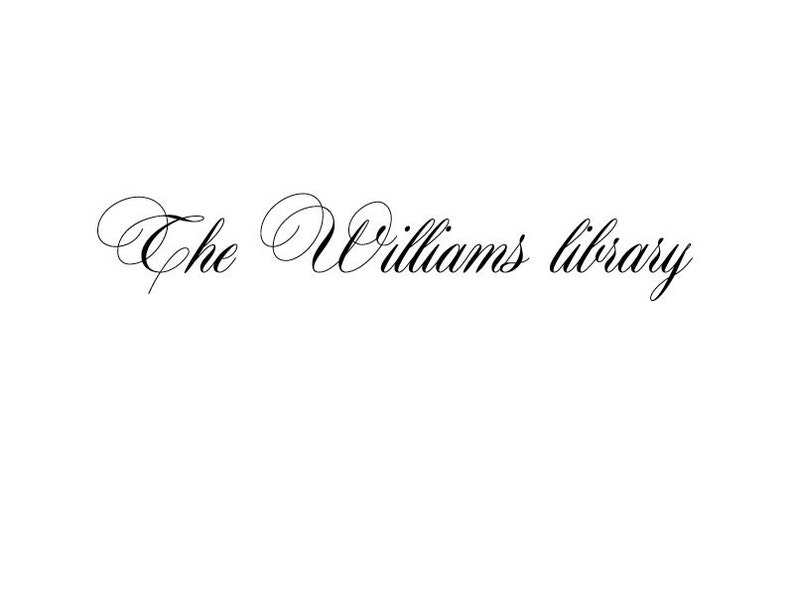 Library Stamp Personalised Rubber Stamp Calligraphy Stamp Custom Library Stamp Wood Handle or Self Inking