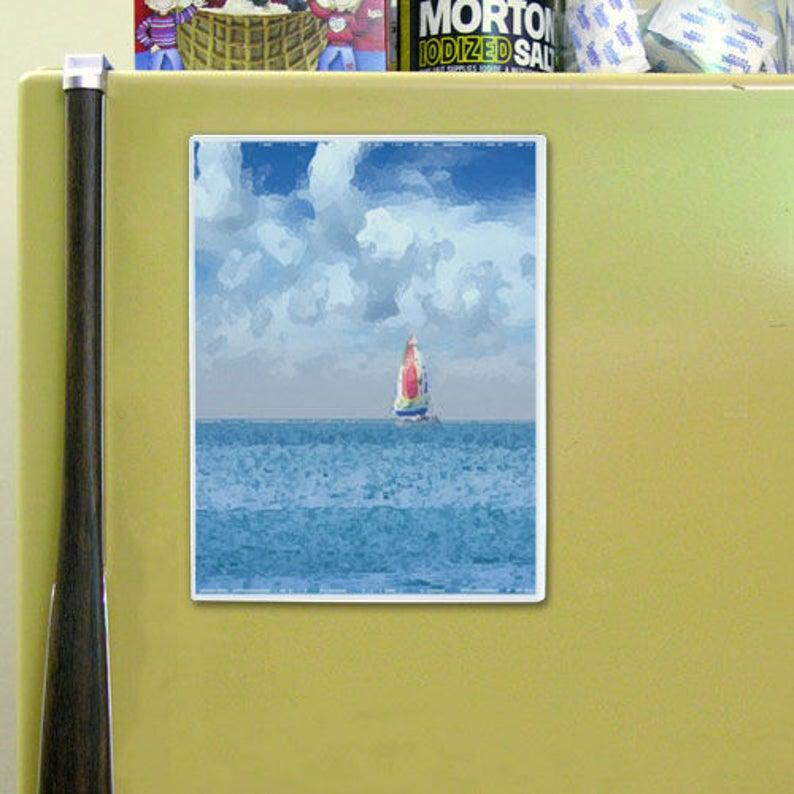 3-Pack H32306-3 8 12 x 11 Full-Back Magnetic Pockets for Refrigerator or Locker Open Long Side