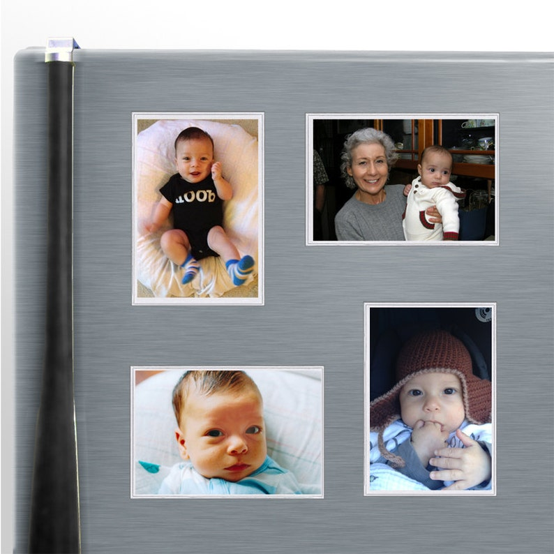 Remove and Reuse 25-Pack 4 x 6 Sticky Photo Frames SPCPSR317S-25 Clear Plastic