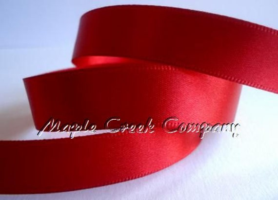 34 COLORS Double Face Satin Ribbon 1//4 inch x 5 yards 15 feet of ribbon
