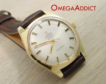 Omega Watch Geneve Meister Men's Automatic #C039