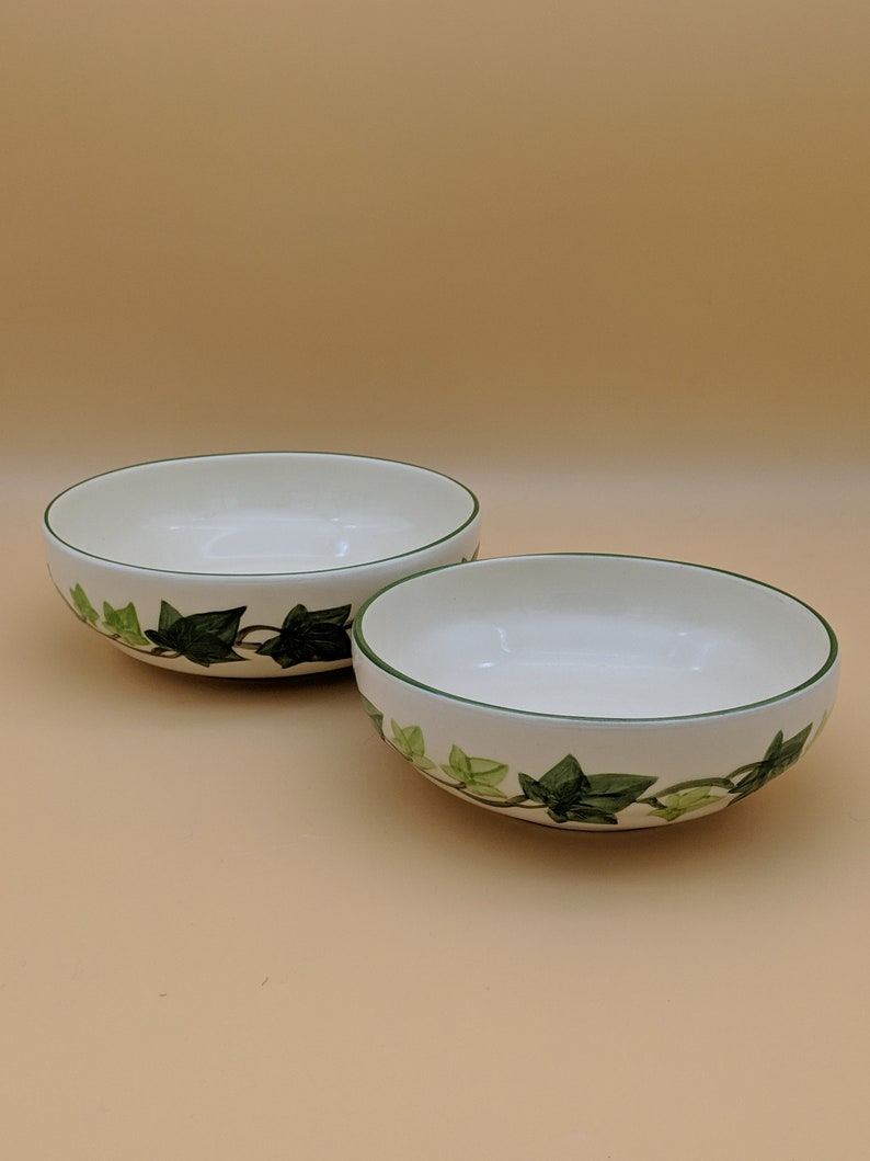 2 Franciscan IVY Serving Bowls USA 50s Med /& Lg I Love Lucy Dishes