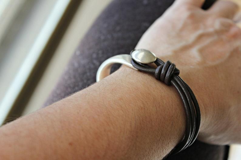 Girls Leather bracelet Boho bracelet WOMEN LEATHER BRACELET Beaded bracelet Leather bracelet for women