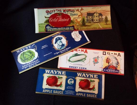 1930s Casa de muñecas en miniatura de Burnam compota de manzana puede