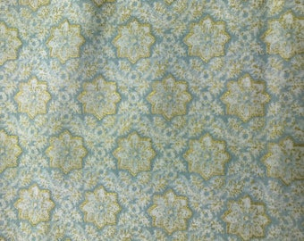 Blue Fabric -Timeless Treasures -  Patina - Quilting Cotton Fabric - Choose your cut