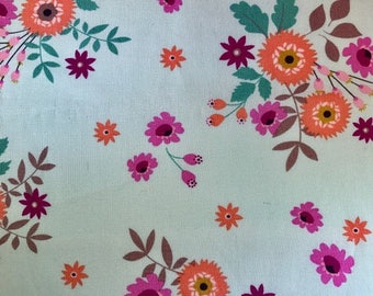 Fabric with flowers.  Timeless Treasures.  Quilting Cotton Fabric.  Choose your cut.