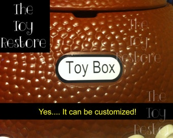 Toy box decal | Etsy
