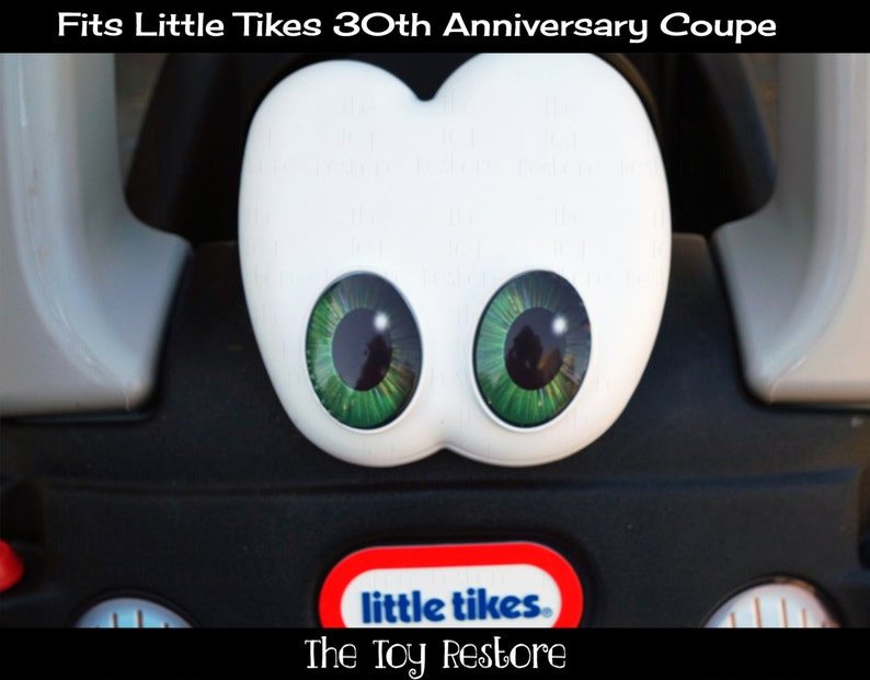 Green Eye Pupils:  New Replacement Decals Stickers for 30th image 0