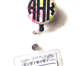 Monogram Badge Reel | OnSkinkerLane
