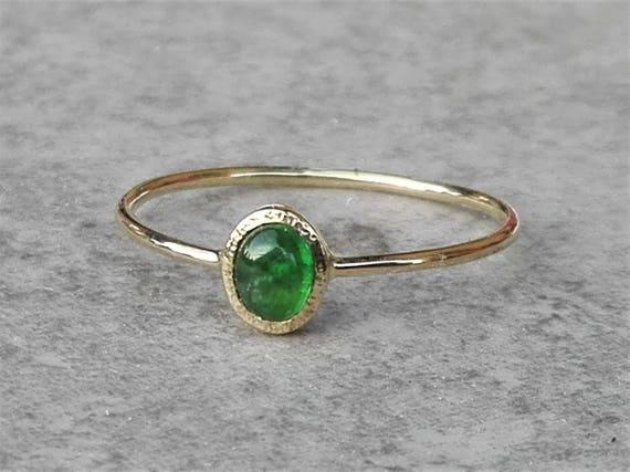 Geliebte Smaragd Ring Gold Smaragd Ring grüner Edelstein | Etsy #TA_63