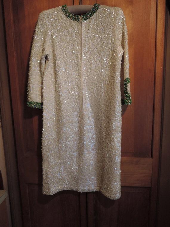 An Elegant Sequined Dress - image 2