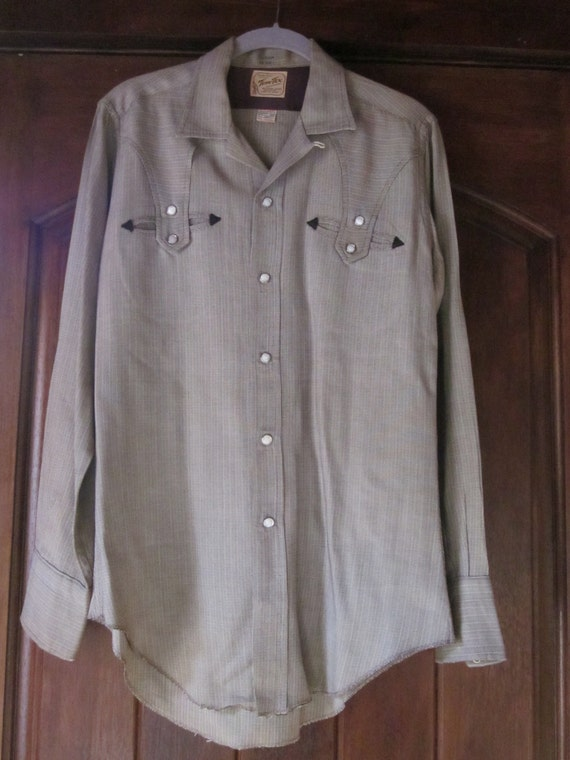 Western Rayon Gaberdine Shirt