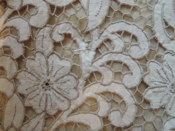 A Stylish Cut Work Dress - image 4