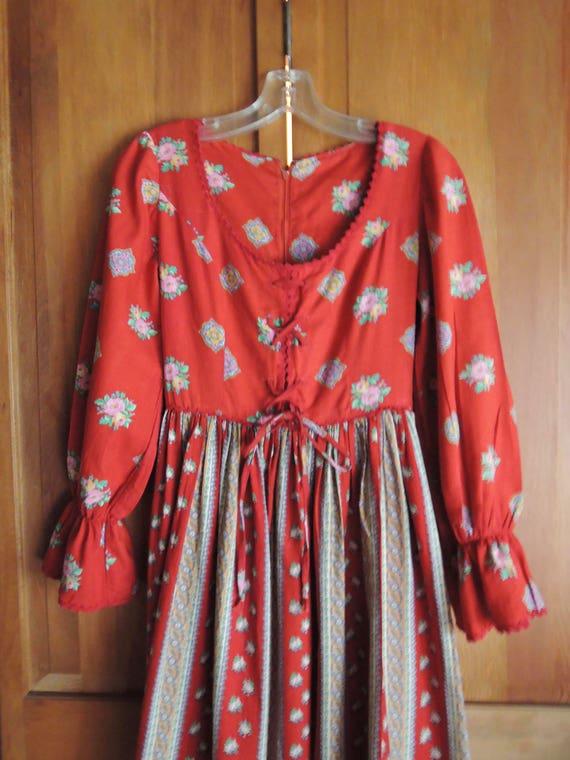 A Corset Maxi Dress
