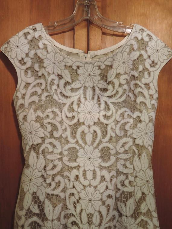 A Stylish Cut Work Dress