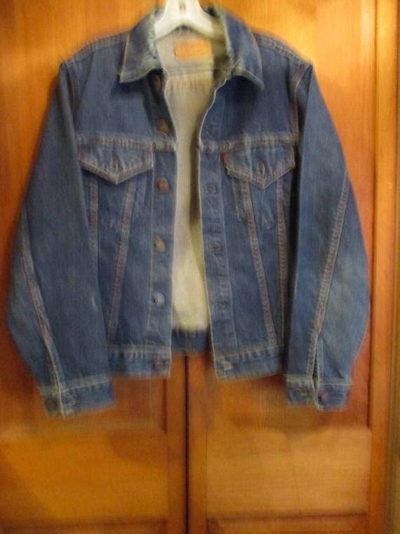A Big E Levis Jacket - image 1