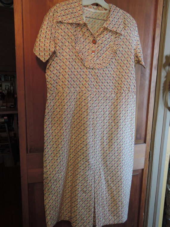 Authentic 1930's Day Dress