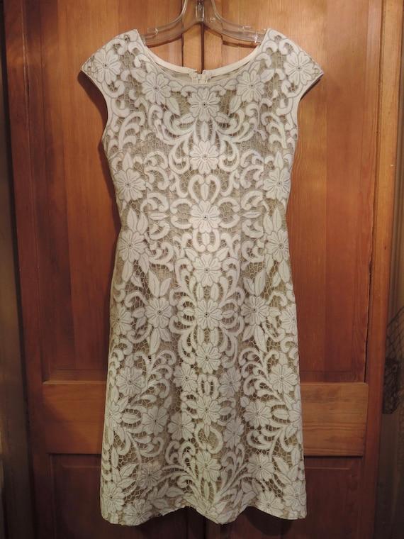 A Stylish Cut Work Dress - image 3