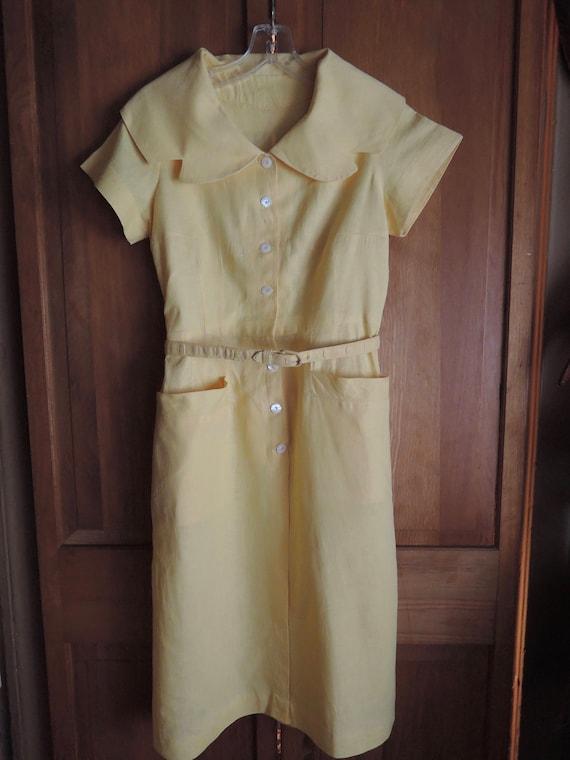 A Smart Shirtwaist Dress