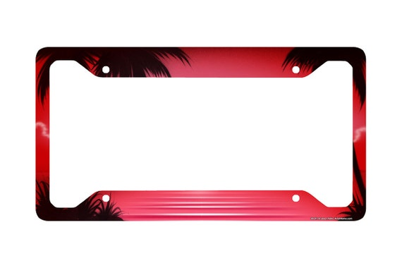 Airstrike Marine Corps USMC War Memorial American Flag License Plate Front License Plate Made in USA Made of Metal -283