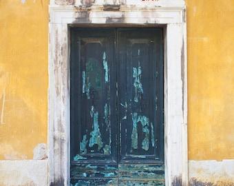 Venice Italy Photography, Vintage Door Photo, Old Door Art, Venice Italy Art, Travel Photography, Fine Art Photo, Vintage Decor