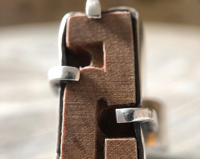 Vintage Letter Press Ring #3