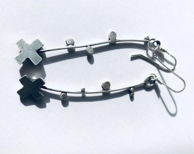 The cross Earring #1