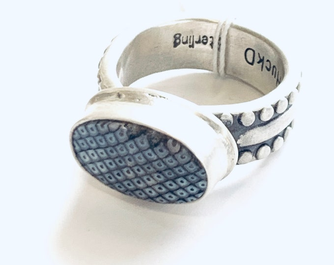 Snake Skin Ring #1