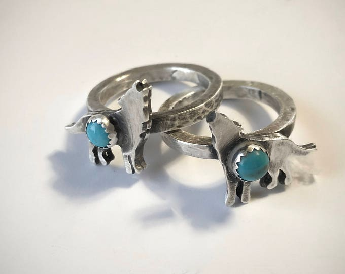 Howling Wolf Ring #2