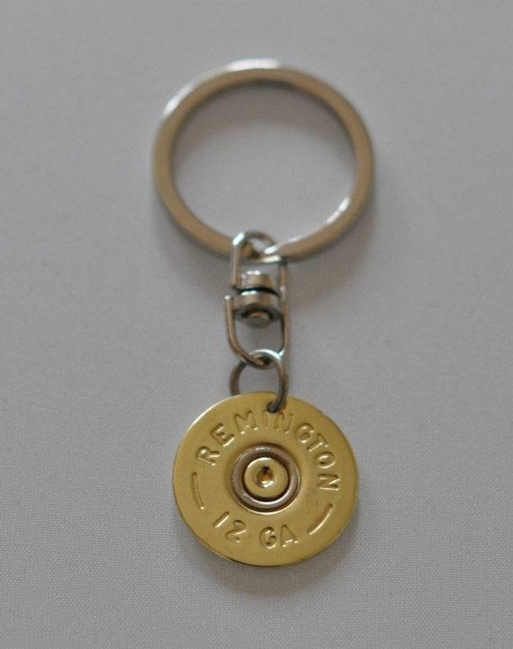 Shotgun Shell Keychain ~ Remington 12g Shotgun Shell