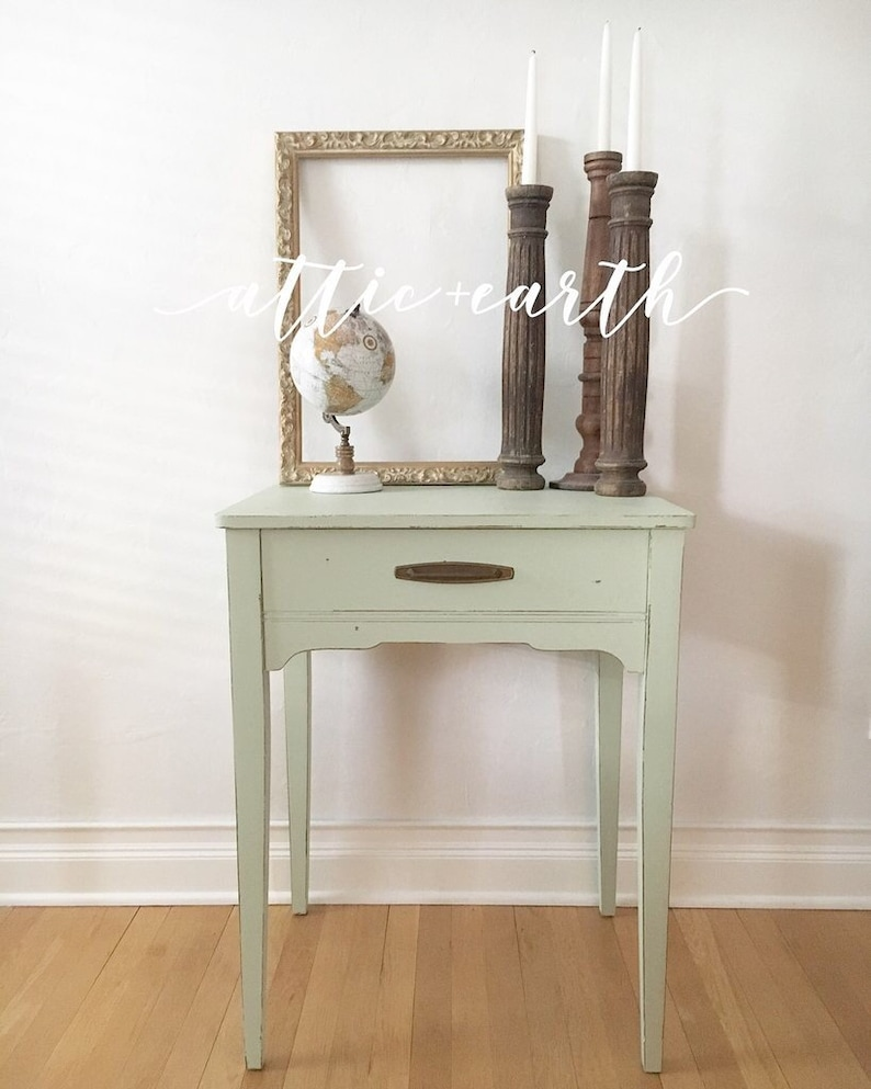 - Mint Green Accent Table Etsy