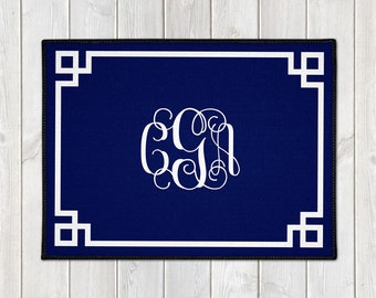 Personalized Door Mat - Custom Welcome Mat - Personalized Welcome Mat - Monogram Door Mat - Custom Doormat - Housewarming - Wedding Gift