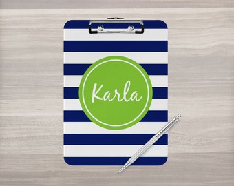 Personalized Clipboard - Monogram Clipboard - Custom Clip Board - Coach Clipboard - Nurse Clipboard - Teacher Gift - Double Sided Clipboard