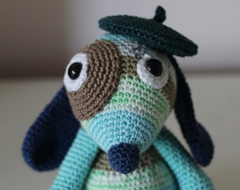 Lucien the French dog (pattern US)