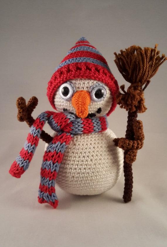 Harry De Sneeuwpop Haakpatroon Nl Etsy