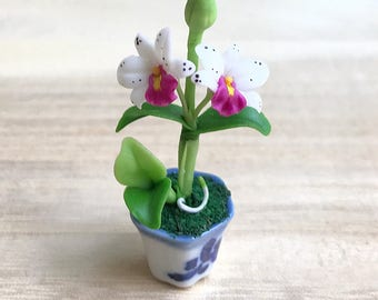 Miniature Flower,Miniature Flower Pot,Miniature Vase,Dollhouse Flower,Miniature Garden,Dollhouse Flower Pot,Dollhouse,Miniatures
