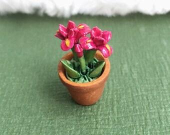 Miniature Flower Pot,Miniature Flower,Doll's House Decoration,Miniature Flower Vase,Miniature Accessories,dolls and miniature,Flower
