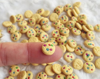 10/20 Miniature Cookies,Miniature Bakery,Miniature Food,Dolls House Food,Miniature Sweet,Miniature Jewelry,Miniature Accessories,Miniatures