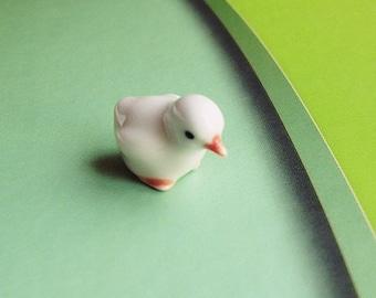 Miniature Duck,Little duck,Tiny Ducky,Doll house duck,Small duck,Duck,Miniature Fairy Garden Accessories,Dollhouse duck