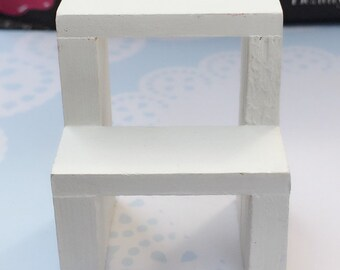 Miniature Wooden Stand,Miniature Display,Dollhouse Display,Dollhouse Wooden Stand,Miniature Accessories,Dollhouse,DIY