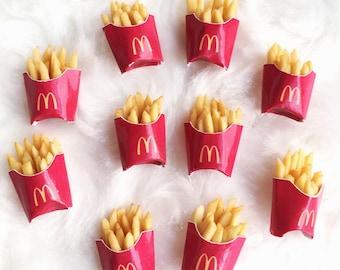 Miniature French-fries,Miniature potato chips,Dollhouse Potato,Miniature Potato,Miniature Food,Miniatures,Fried Potatoes,Chips,Miniatures